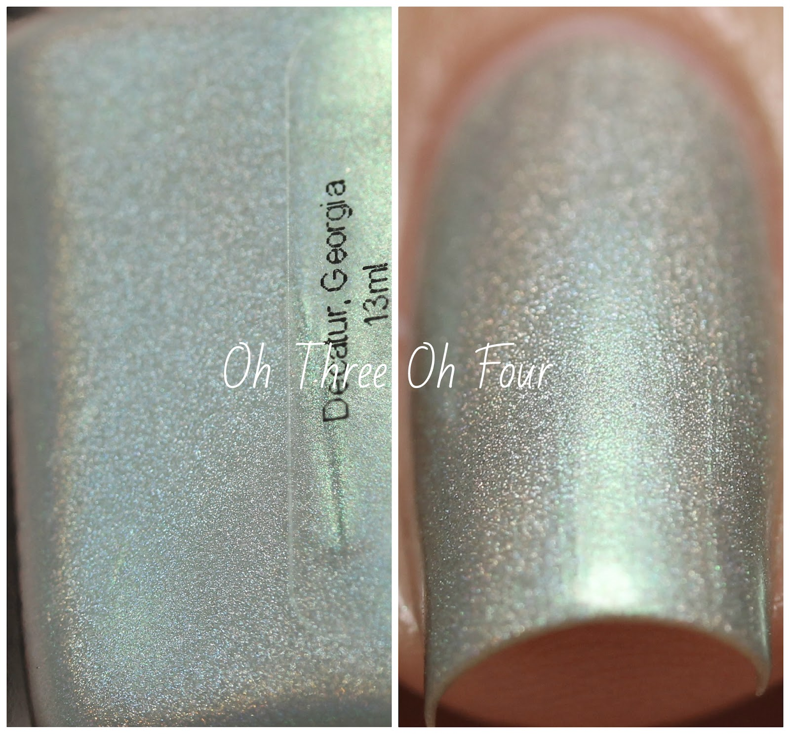 Blue-Eyed Girl Lacquer Dorkhead?! You Slash Me with Your Words! Swatch