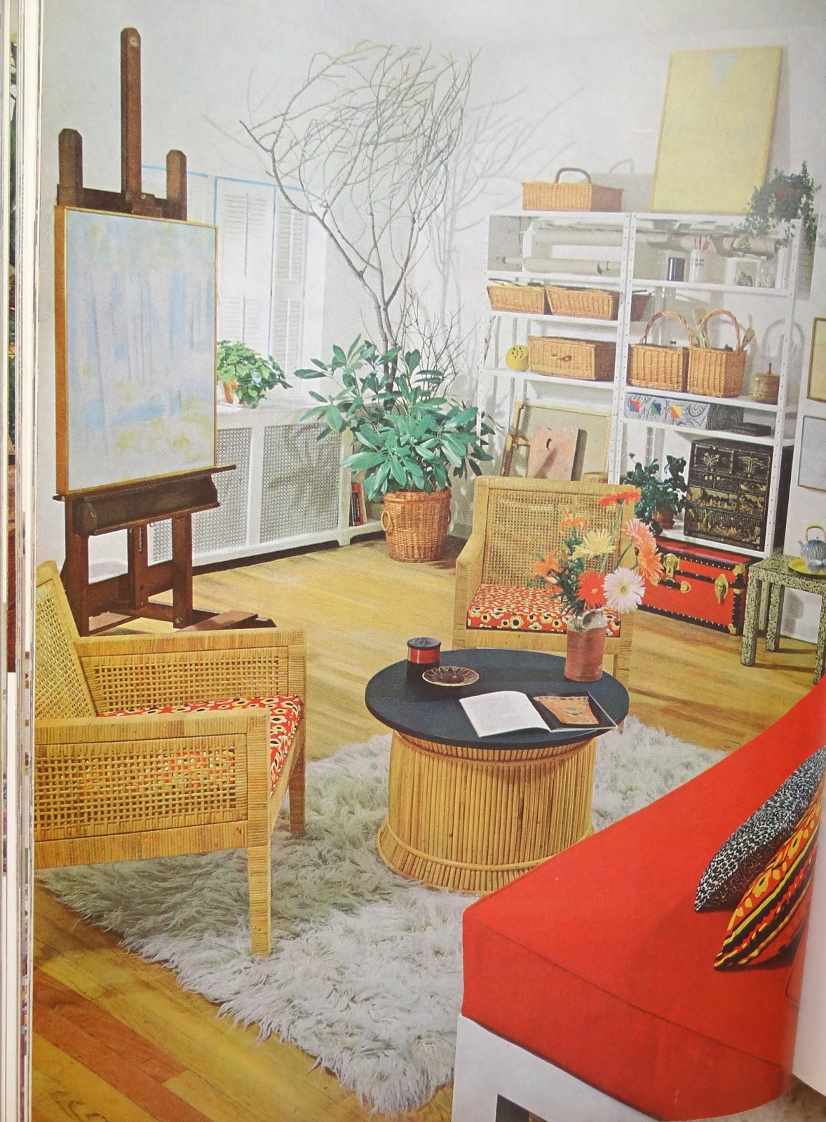 Gypsy yaya lovin 70 39 s design house gardens complete for 1970s living room interior design