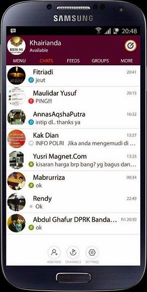 BBM Mod MI Special v2.7.0.23 Android
