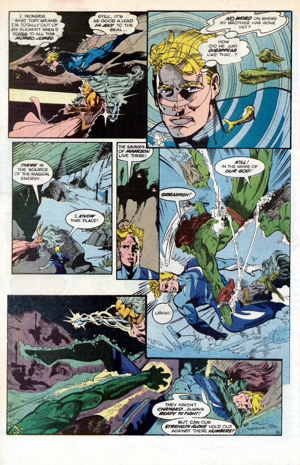 Aquaman (1986) Issue #2 #2 - English 30