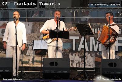 Peix Fregit a la cantada d'havaneres de Tamariu