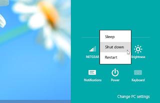 Shutdown Windows 8