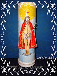 LUMINARIAS EM PVC BOM JESUS DE IGUAPE