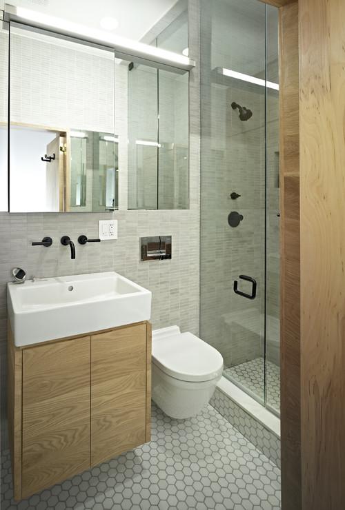 Unik dissenys ba os modernos y sencillos for Imagenes de banos pequenos sencillos