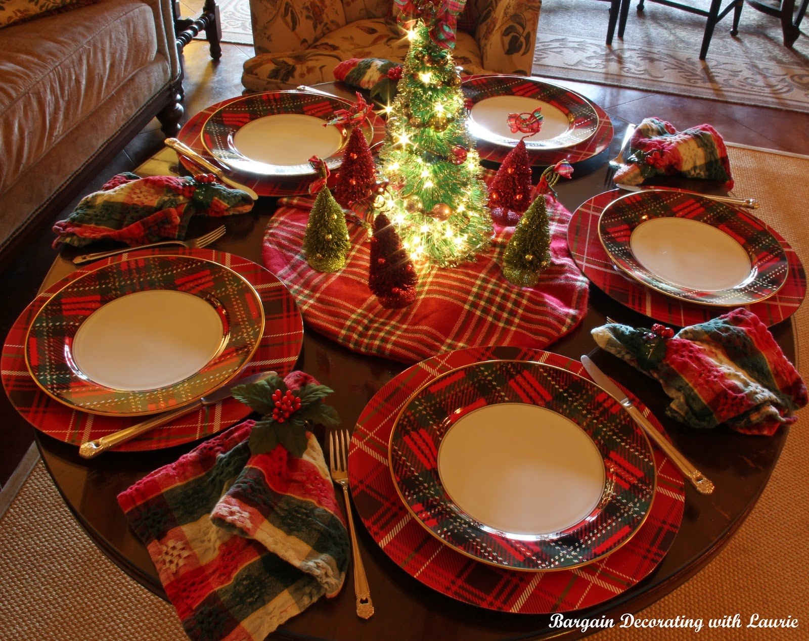 Bargain Decorating With Laurie Christmas Eve Tablescapes