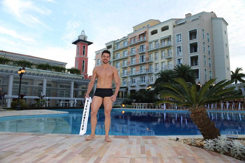 Mister Rio de Janeiro - Paulo Leite, 30 anos, 1,80 m - Foto: Leonardo Rodrigues