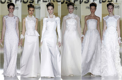 jesus peiró coleccion 2014 barcelona bridal week