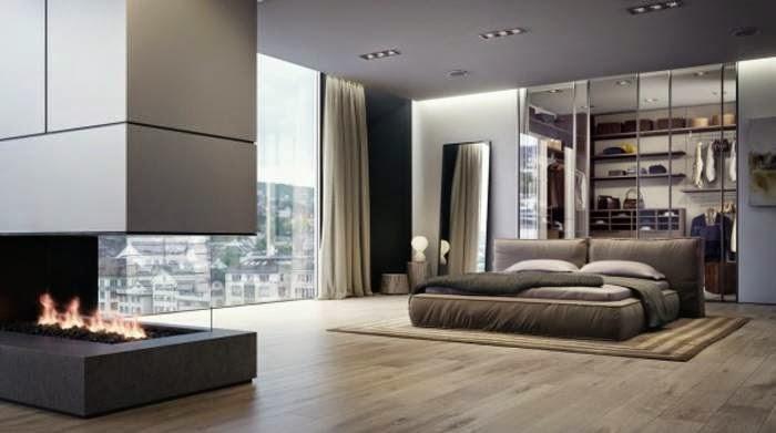 Interior kamar tidur mewah