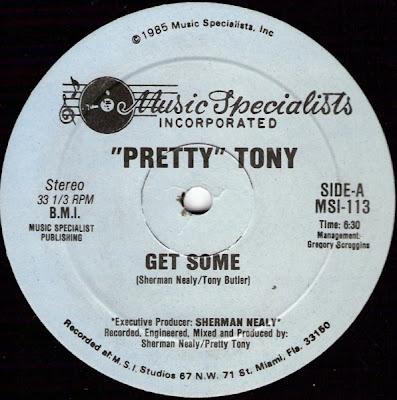 """Pretty"" Tony – Get Some (1985) 12'' – 320 kb/s"