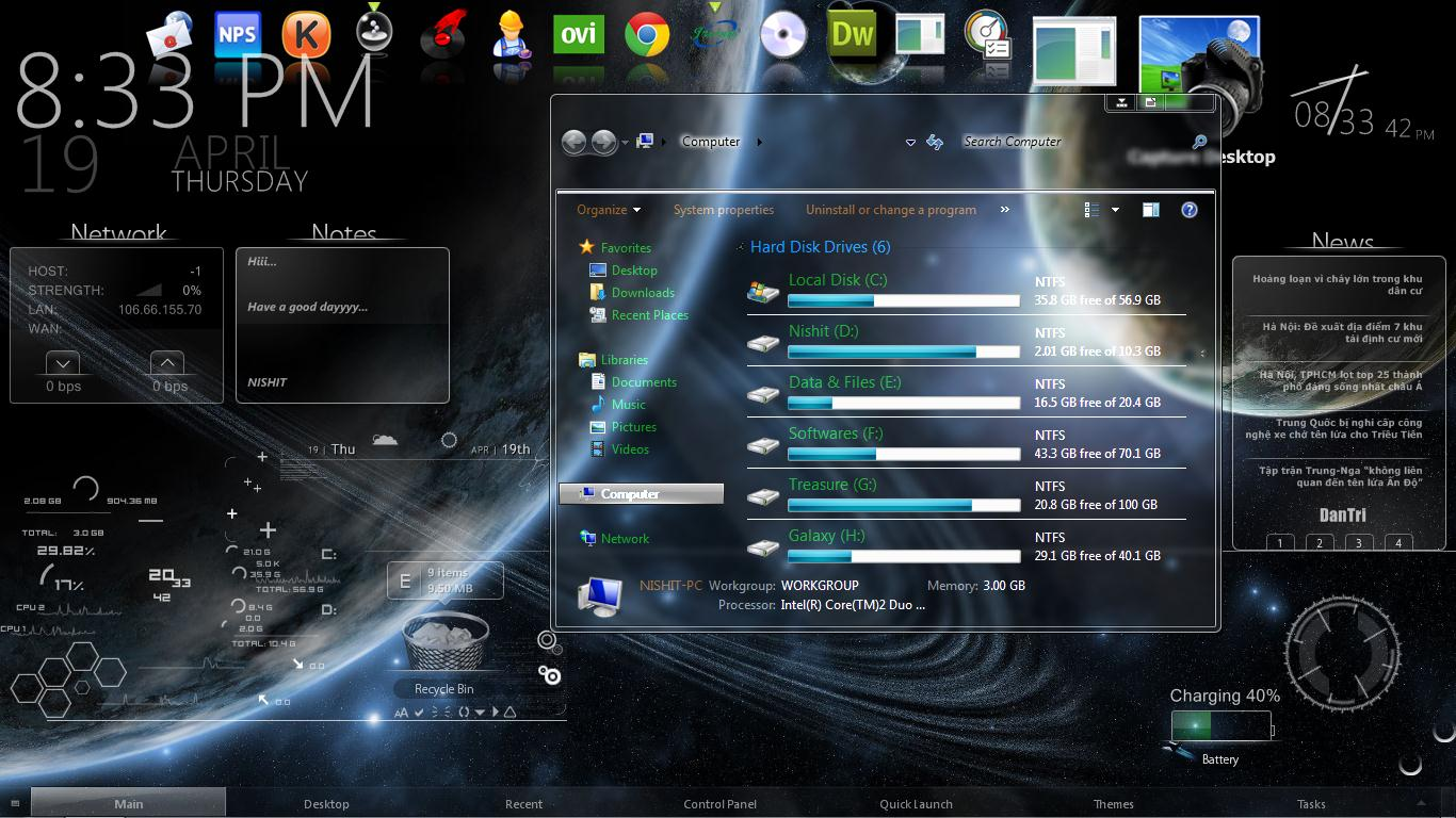 windows 7 transparent theme