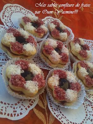 Selma kitchen sabl s a la confiture de fraise - Recette sable confiture maizena ...