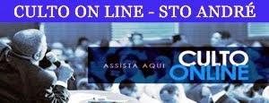 Assista aqui - Culto on line