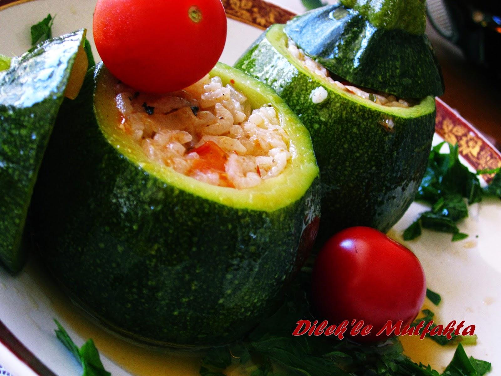 Zeytinyağlı Girit Kabağı Yemeği