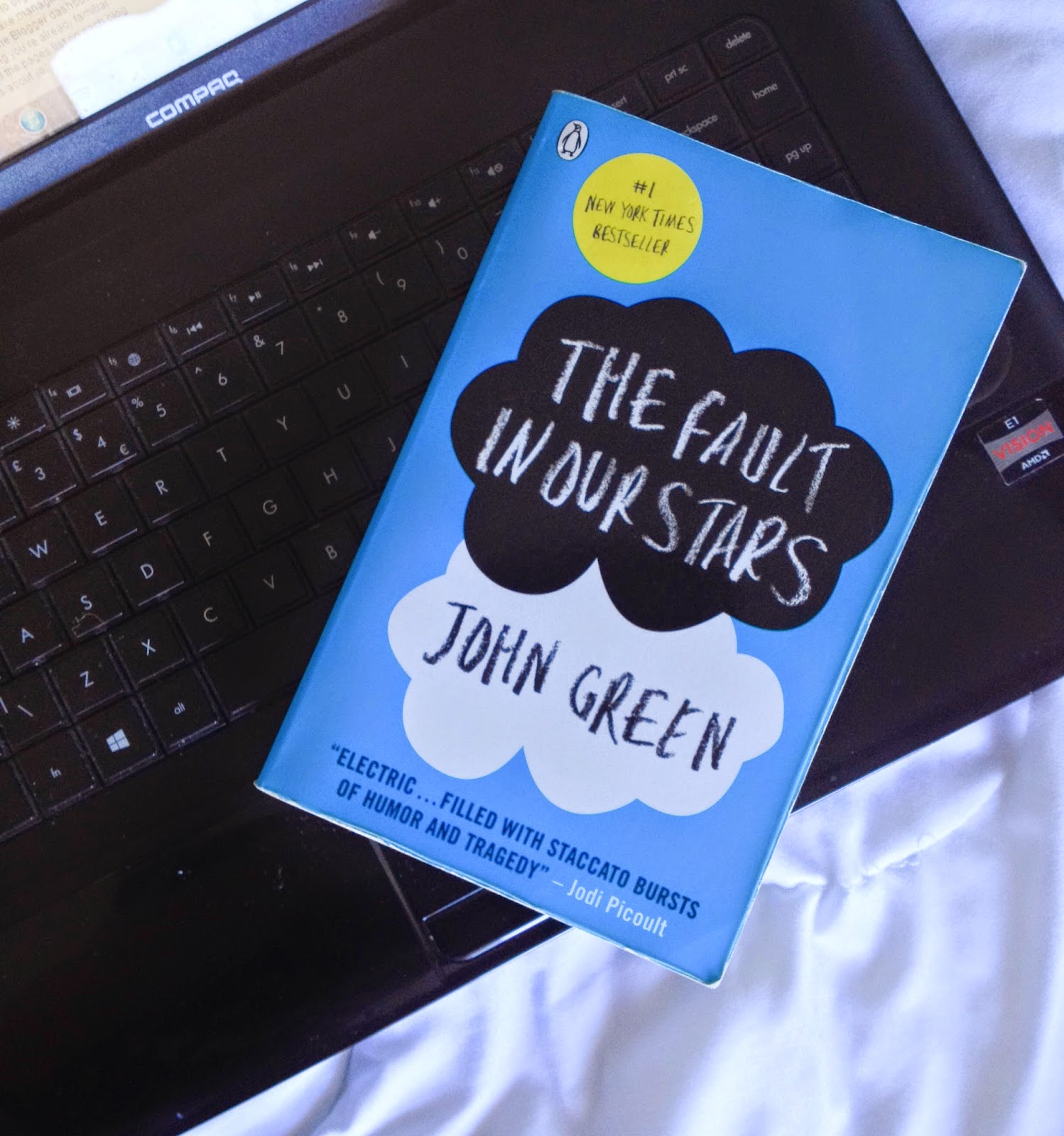book review fault in our stars Cancer is such a dreadful disease, indiscriminate in its choice of victim, choosing with aplomb regardless of age, gender, or status there are a myriad of stories behind the tragedy and many of them remain untold in the fault in our stars by john green, he builds a story out of darkness and.