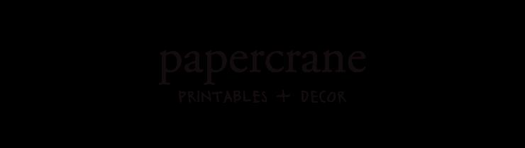 PaperCrane Printables