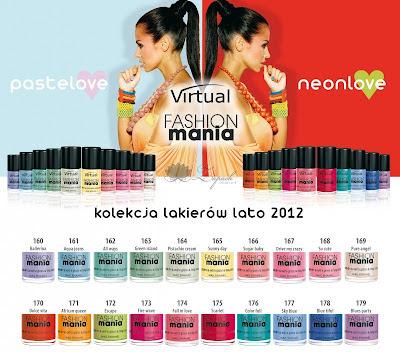Zapowiedź: Virtual Fashionmania PasteLove i NeonLove