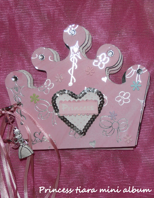 Princess Tiara Mini Album