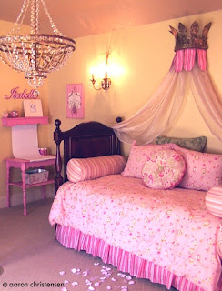 Custom Princess Crown and Bedroom Design by EmbellishmentsKids.com
