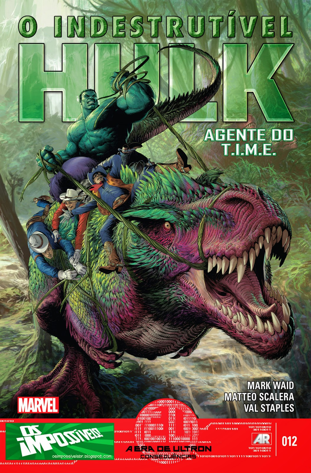 Nova Marvel! O Indestrutível Hulk - Agente do T.I.M.E #12