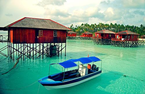 resort di pulau maratua