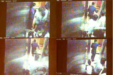 video cctv suster ngesot di tendang satpam