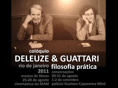 colóquio Deleuze & Guattari