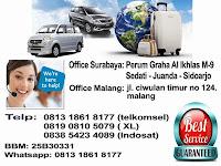 Jadwal Travel Athallah Surabaya - Malang PP