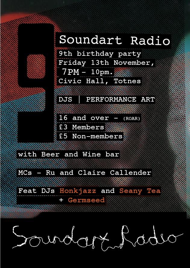 Soundart Radio is 9