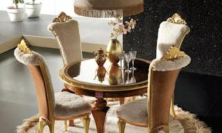 mesa de jantar redonda com tampo de vidro