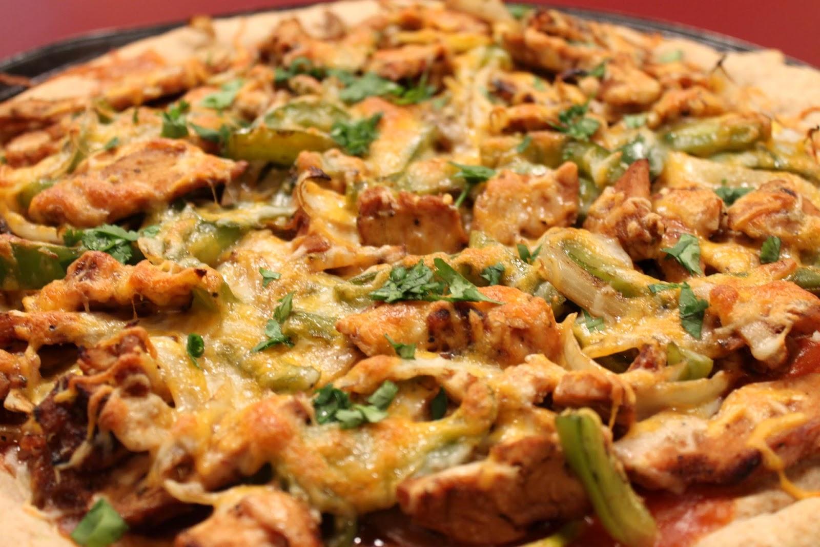 Imitation by Design: Chicken Fajita Pizza