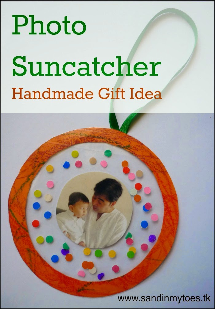 Photo Suncatcher - Handmade Gift Idea
