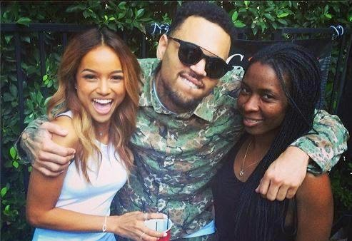 karrueche tran, chris brown, facebook,