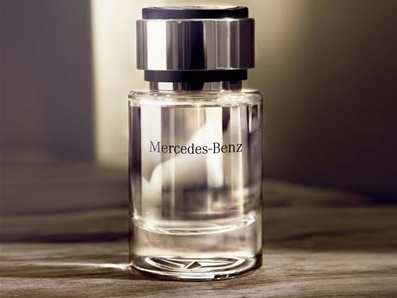 Mercedes benz launches new perfume for men wheel o mania for Mercedes benz car perfume