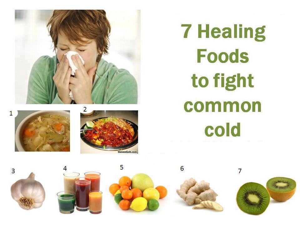 Cold Food List Foods to Fight Common Cold