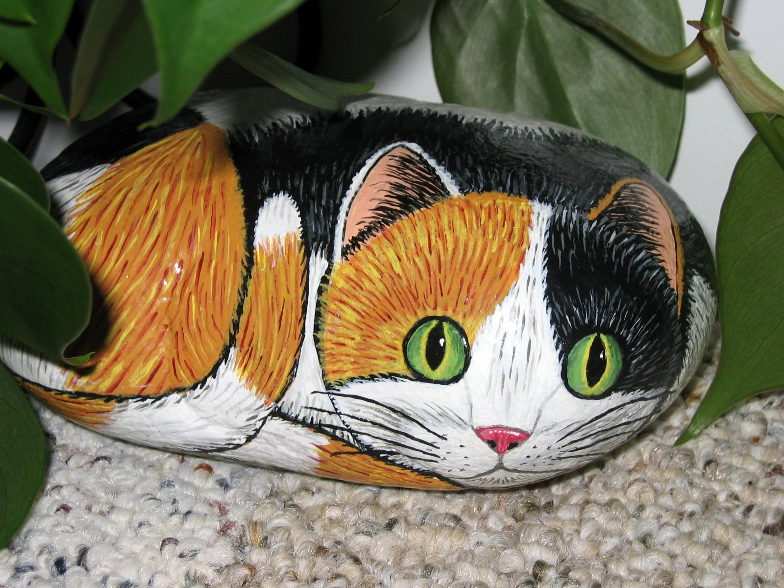 all about cats made it myself monday painting on rocks