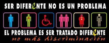 ESTE BLOG ES CONTRA CUALQUIER TIPO DE DISCRIMINACION