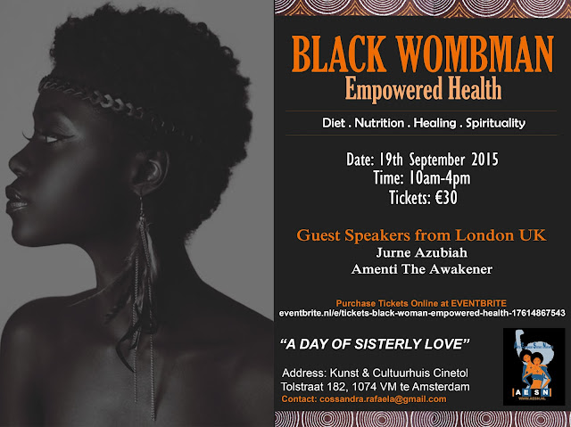 Black%2BWombman%2BEmpowered%2BHealth Black Wombman Empowered Health Event in Amsterdam