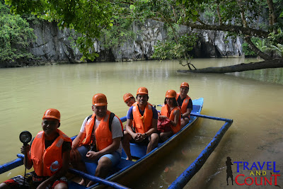 Paddle Boat tour Underground River Palawan