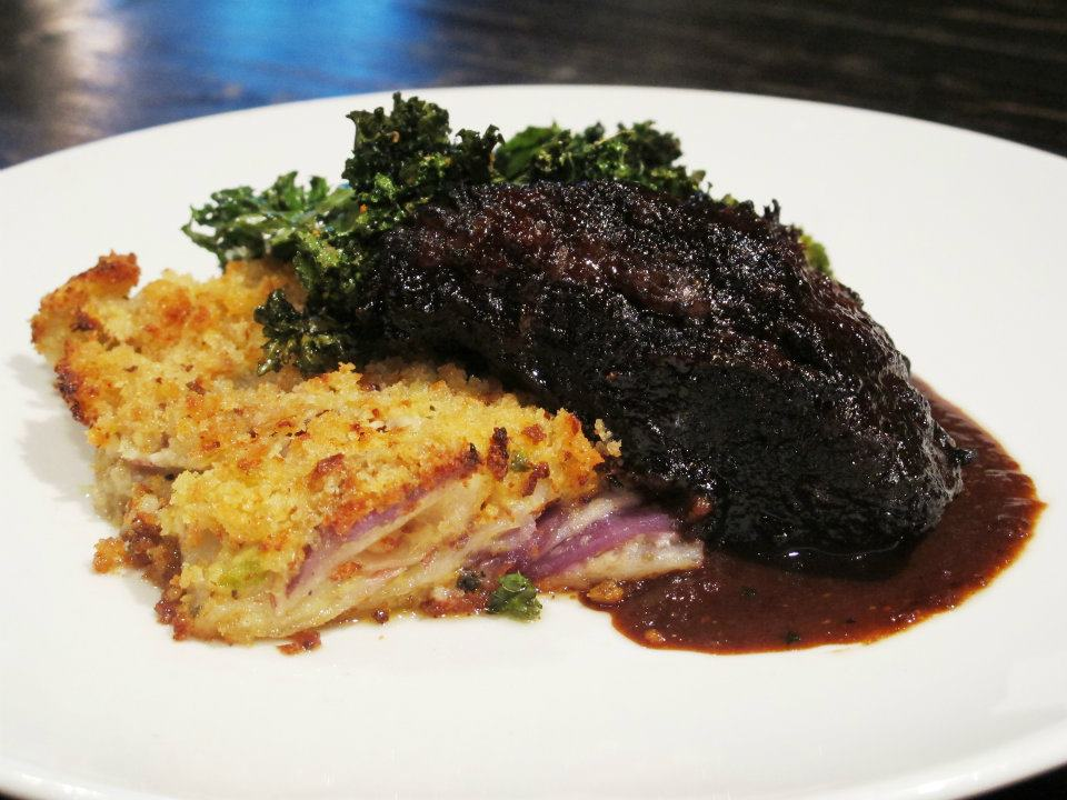 Porcini-Balsamic Glazed Short Ribs - the carne diem