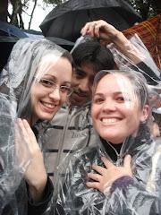 A chuva não impediu a marcha pra Jesus!