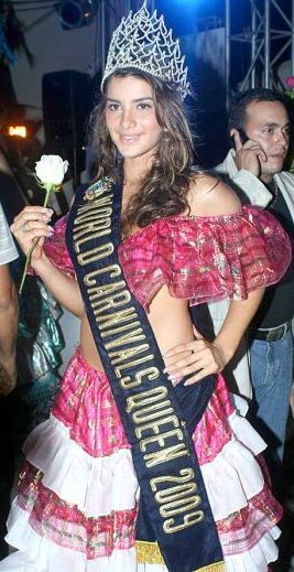 Korina Rivadeneira (Miss World Carnivals Queen 2009)