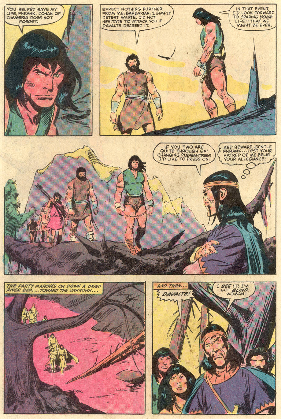 Conan the Barbarian (1970) Issue #140 #152 - English 21