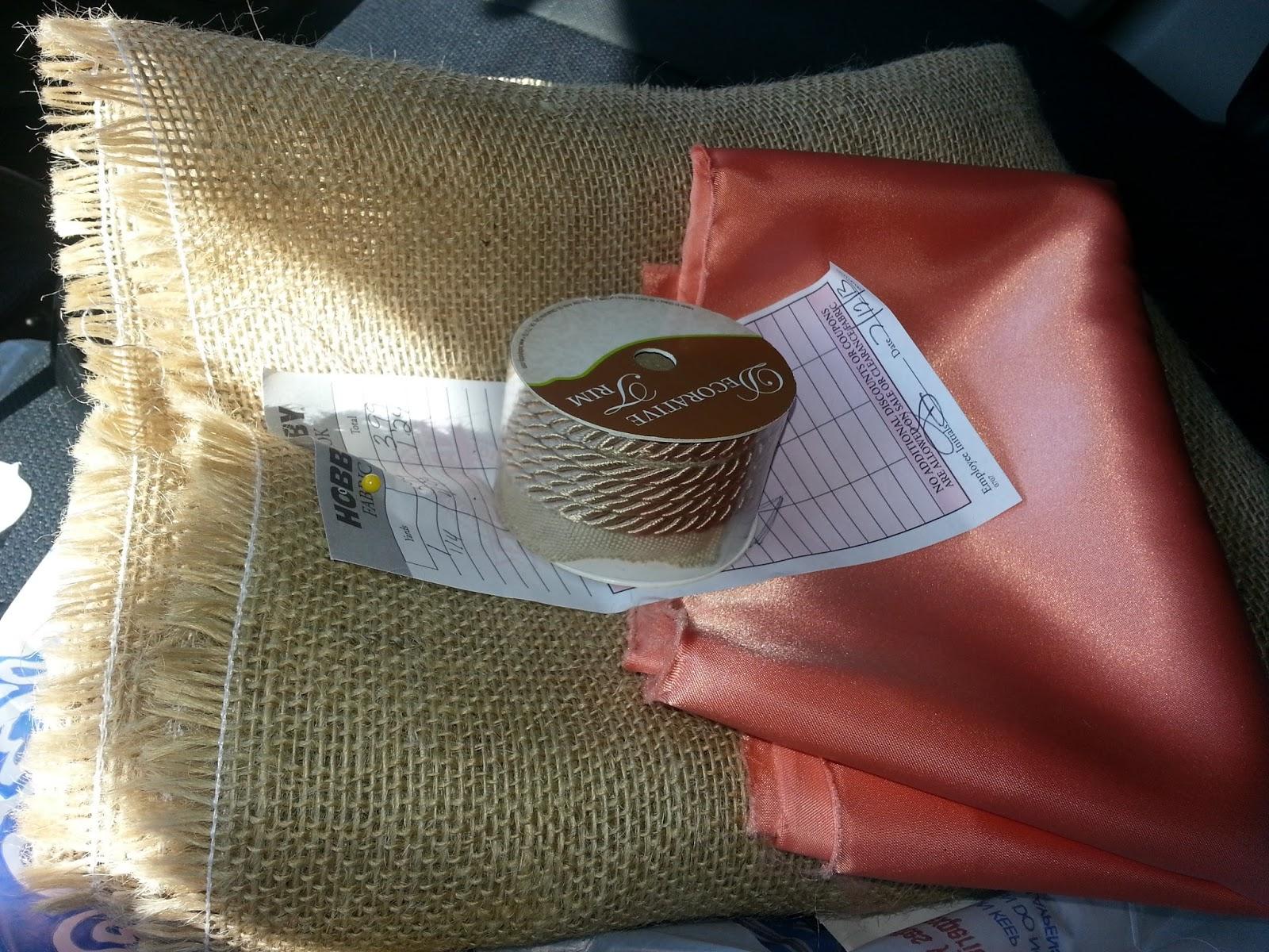 Burlap Flower Girl Basket Hobby Lobby : Crafting a fairytale ring bearer pillow