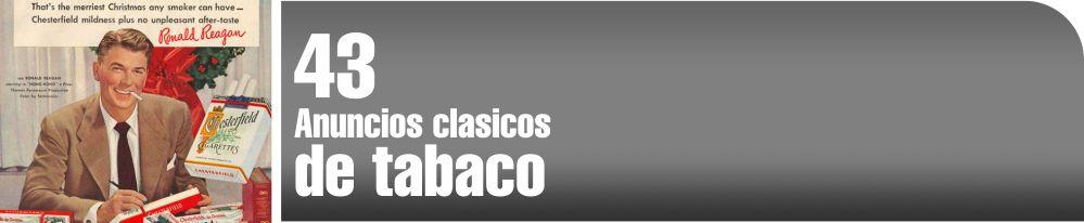 Anuncios clásicos de tabaco