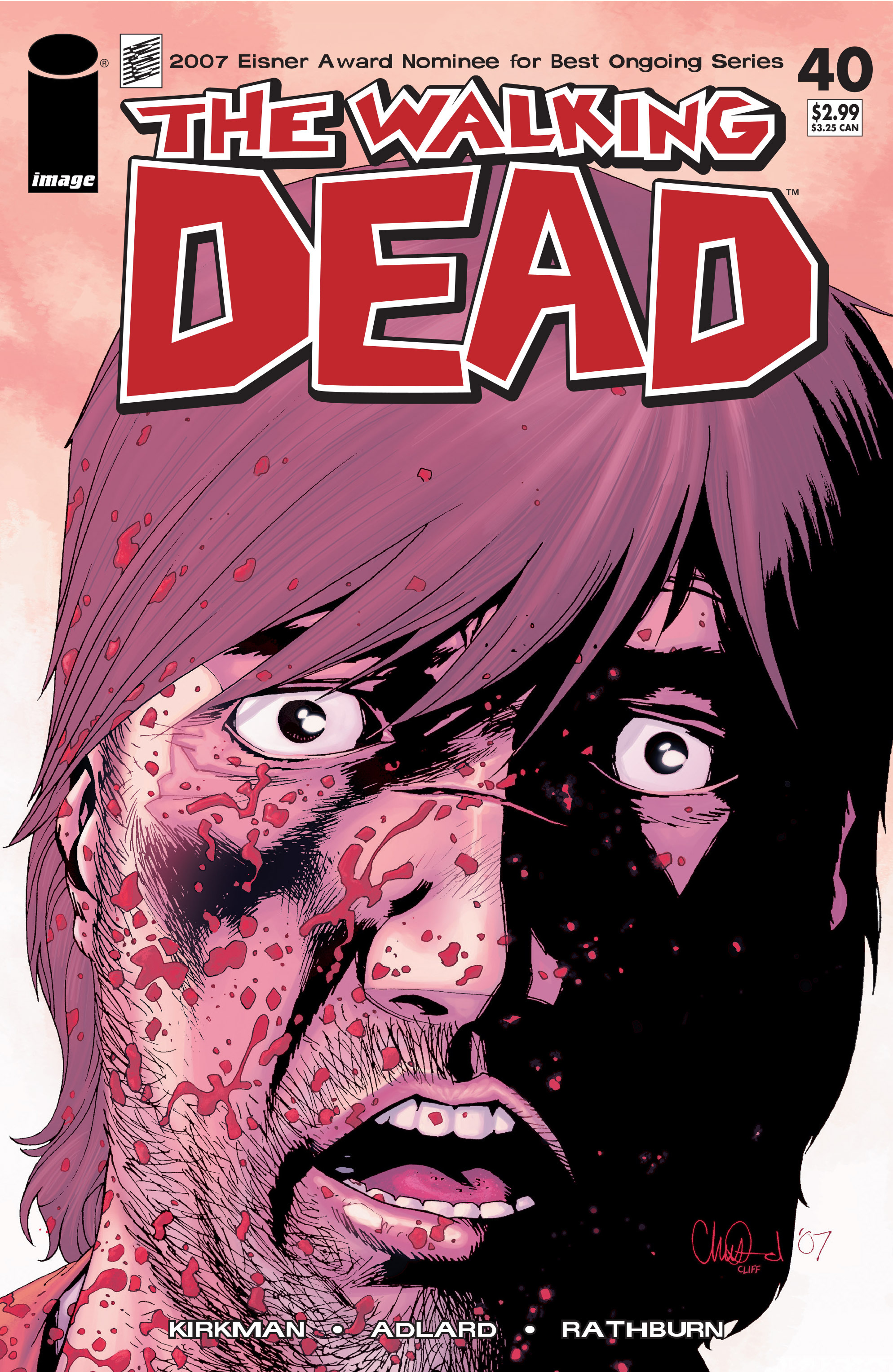The Walking Dead Issue #40 Page 1