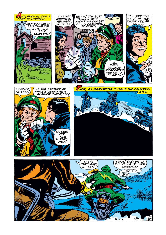 Captain America (1968) Issue #128 #42 - English 14