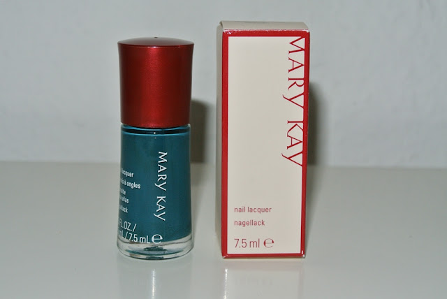 Mary Kay nail polish review teal