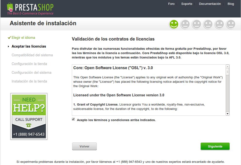 DriveMeca instalando PrestaShop 1.6 paso a paso
