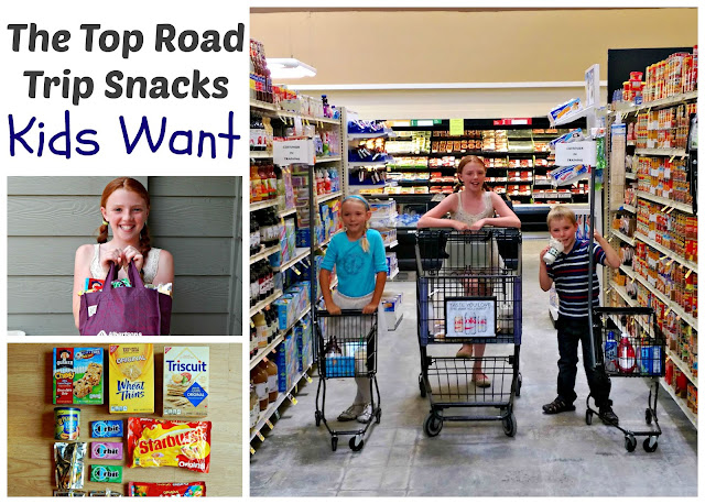 The Top Road Trip Snacks Kids Want #RoadTripHacks #ad #collectivebias