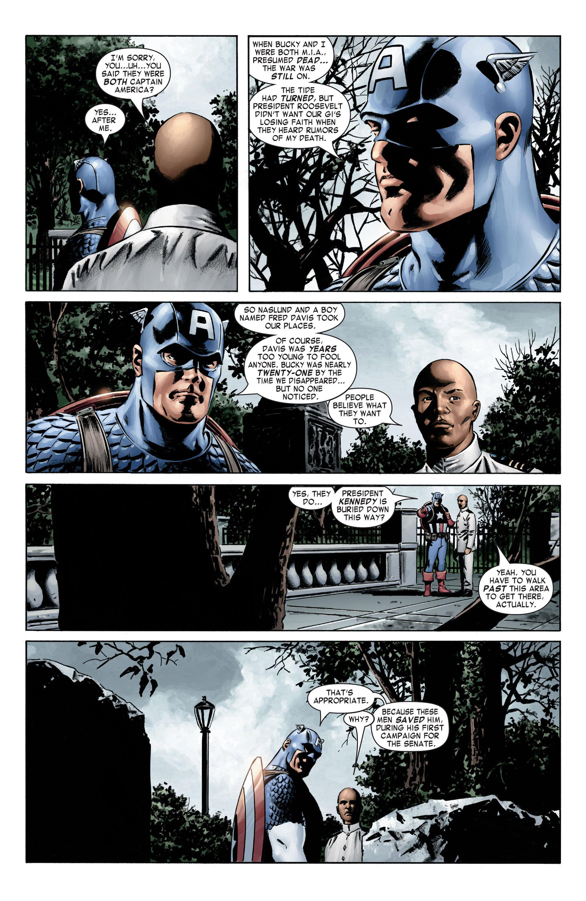 Captain America (2005) Issue #4 #4 - English 11
